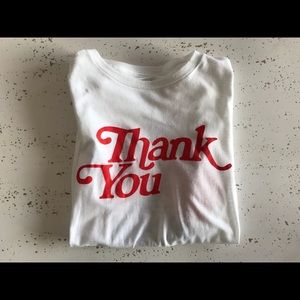 Other - Thank you tshirt